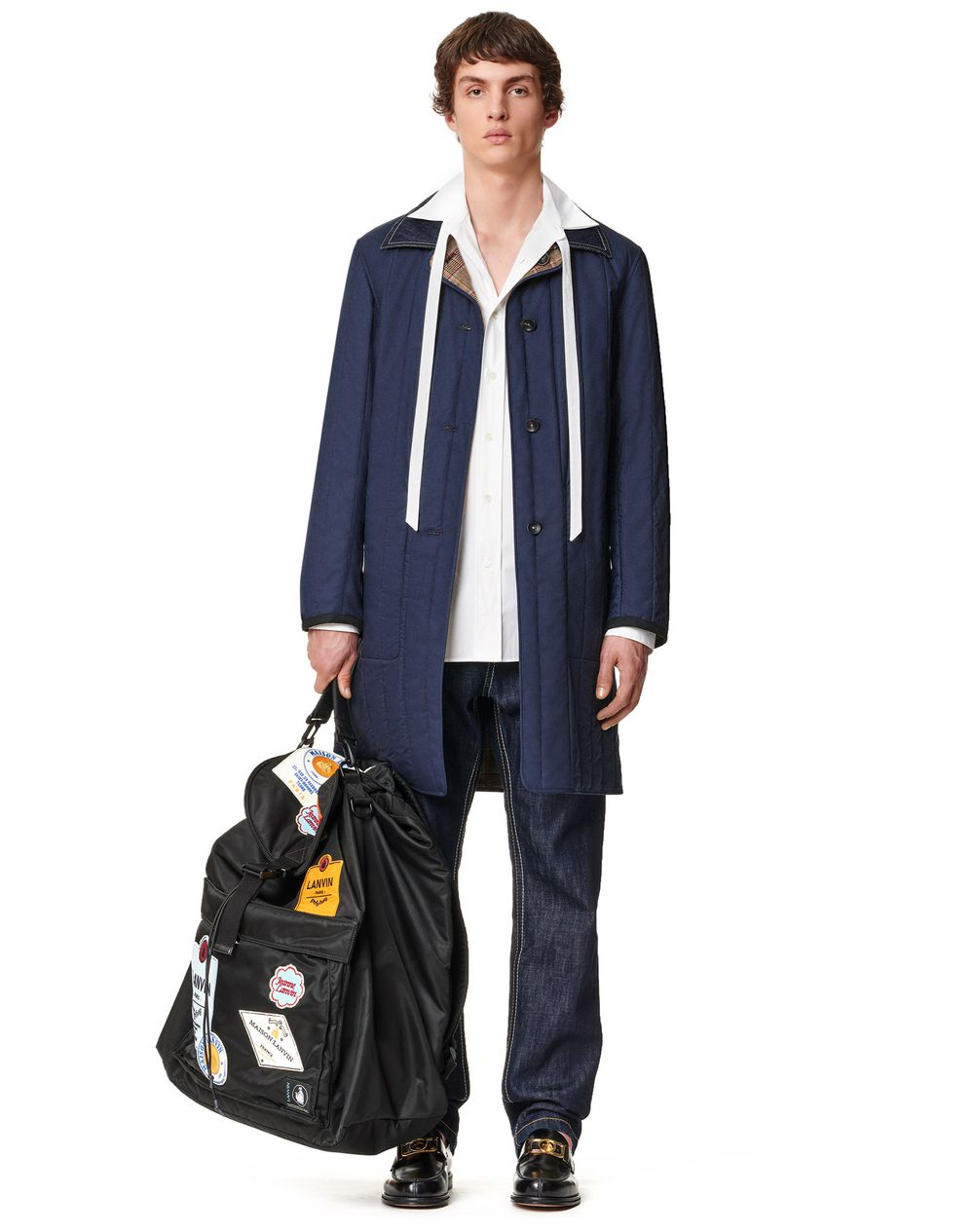 RVERSIBLE QUILTED CARCOAT - Lanvin