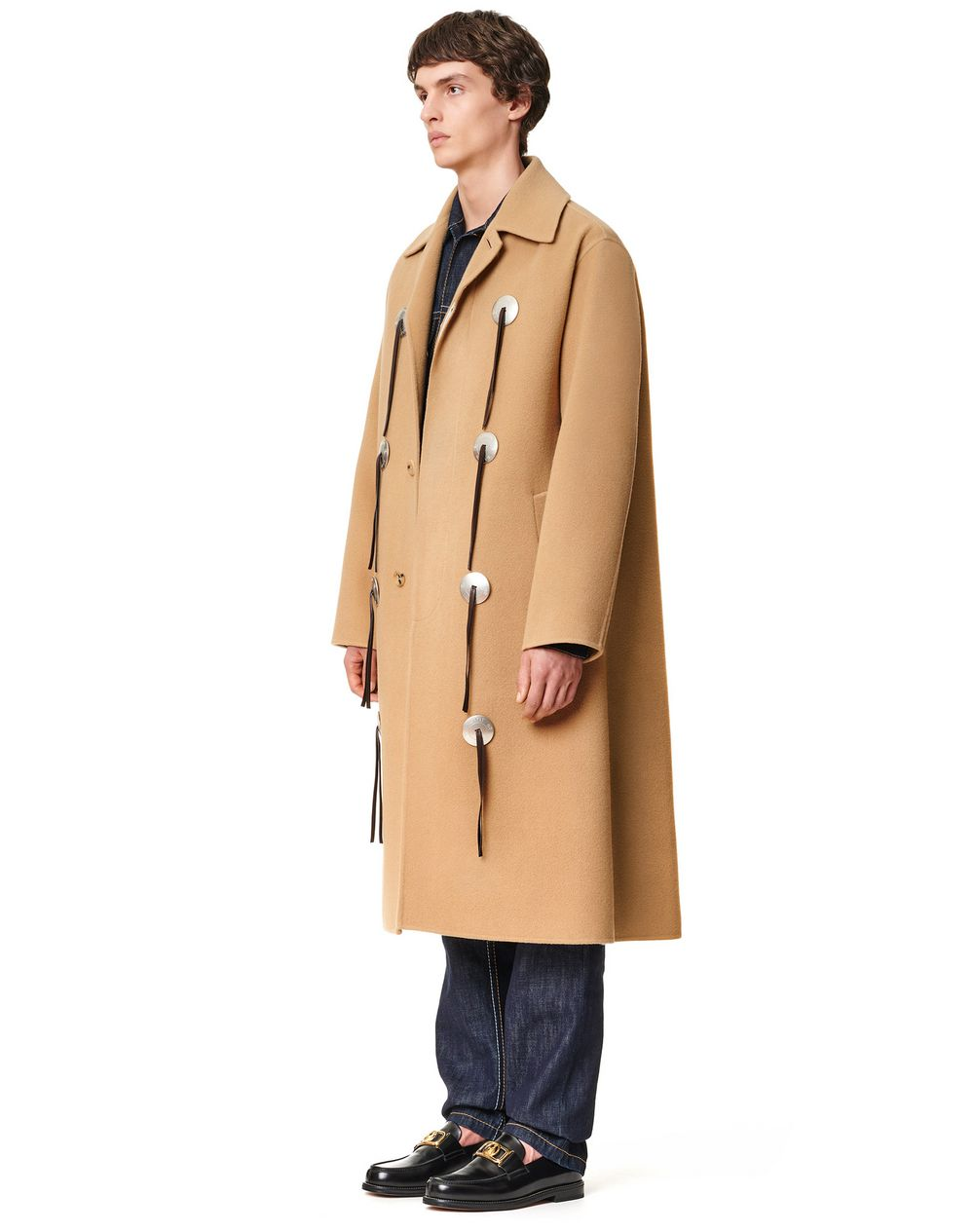 DOUBLE FACE WOOL LONG COAT - Lanvin