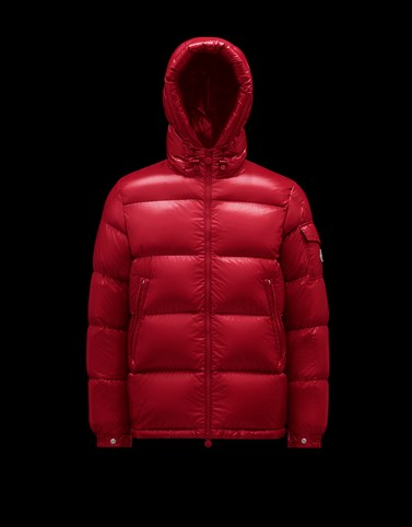 ECRINS Red Down Jackets Man