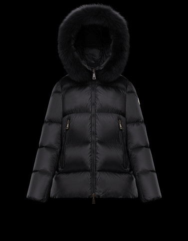 SERIFUR Black Category Short outerwear Woman