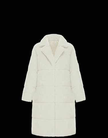 BAGAUD Ivory Category Coats Woman
