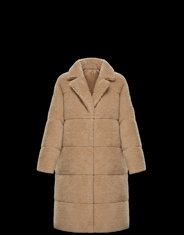 BAGAUD Beige Category Coats Woman