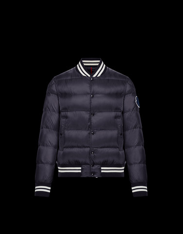 BEAUFORTAIN Dark blue Down Jackets Man