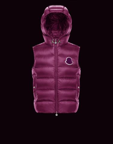VANOISE Purple Waistcoats Man