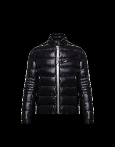 CAROUX Black Leather Man