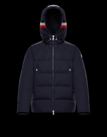 CORBORANT Dark blue Down Jackets Man