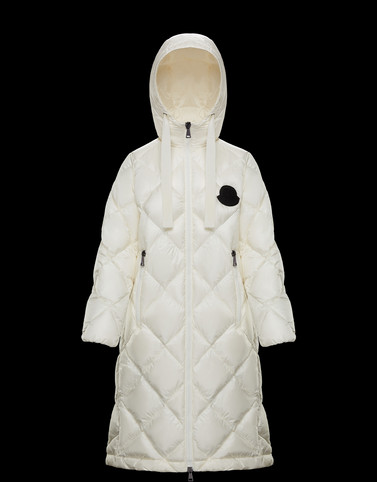 DUROC Ivory Long Down Jackets Woman