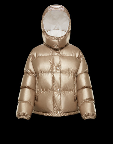 DAOS Gold Short Down Jackets Woman