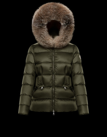 BOED Military green Short Down Jackets Woman