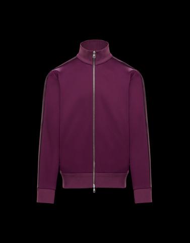 针织开衫 紫色 For Men 男士