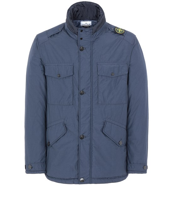 Mid-length jacket 43532 NASLAN LIGHT WATRO WITH PRIMALOFT®-TC STONE ISLAND - 0