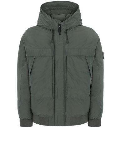 STONE ISLAND 40826 MICRO REPS DOWN  Jacket Man Musk Green USD 1059