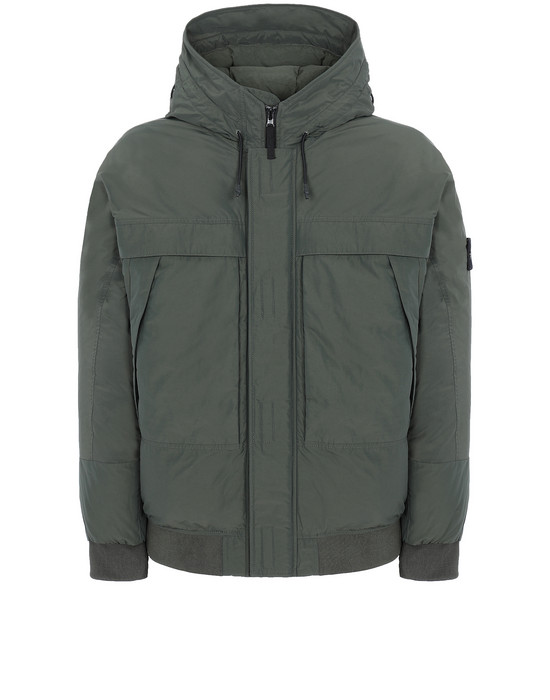 STONE ISLAND 40826 MICRO REPS DOWN  Jacket Man Musk Green