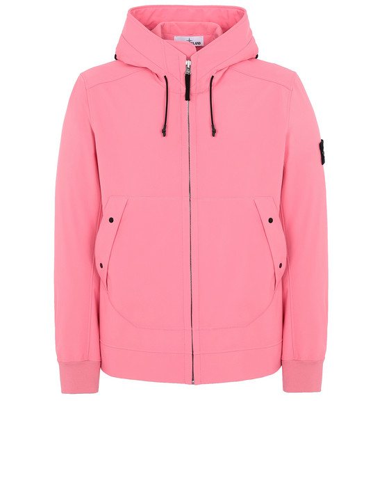 STONE ISLAND Q0122 SOFT SHELL-R LIGHTWEIGHT JACKET Man Cyclamen