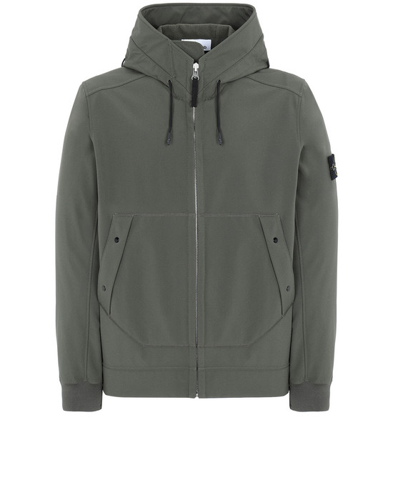 LIGHTWEIGHT JACKET Q0122 SOFT SHELL-R STONE ISLAND - 0