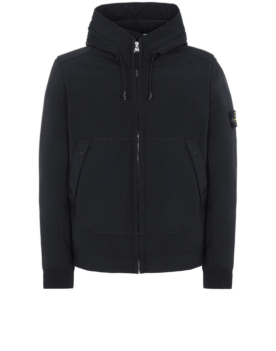 STONE ISLAND Q0122 SOFT SHELL-R LIGHTWEIGHT JACKET Man Black