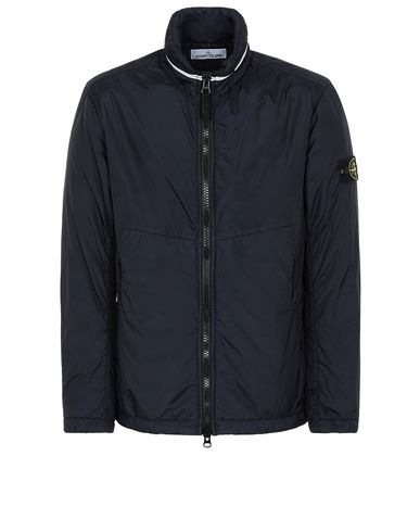STONE ISLAND 40523 GARMENT DYED CRINKLE REPS NY WITH PRIMALOFT®-TC Jacket Man Blue EUR 506