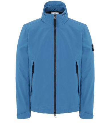 STONE ISLAND 41527 SOFT SHELL-R WITH PRIMALOFT® INSULATION Jacket Man Periwinkle EUR 319