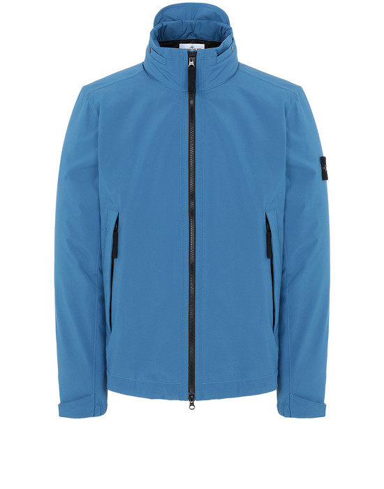 STONE ISLAND 41527 SOFT SHELL-R WITH PRIMALOFT® INSULATION ブルゾン メンズ ペリウィンクル