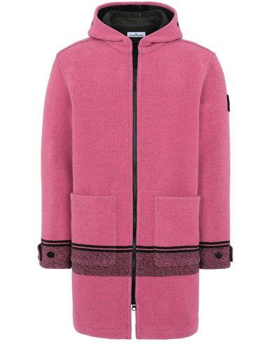 STONE ISLAND 71252 PANNO JACQUARD Mid-length jacket Man Cyclamen EUR 713
