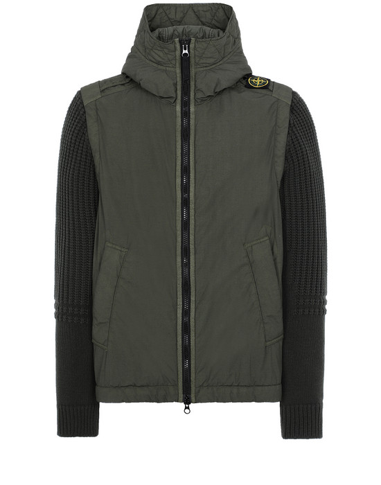 Sold out - STONE ISLAND 43732 NASLAN LIGHT WATRO WITH PRIMALOFT®-TC Jacket Man Musk Green