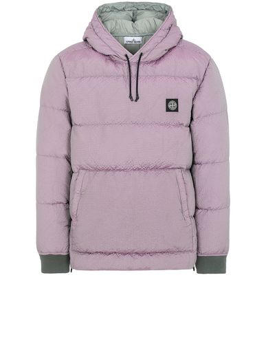 STONE ISLAND 43234 POLY-COLOUR FRAME DOWN-TC 休闲夹克 男士 鼠尾草色 EUR 768