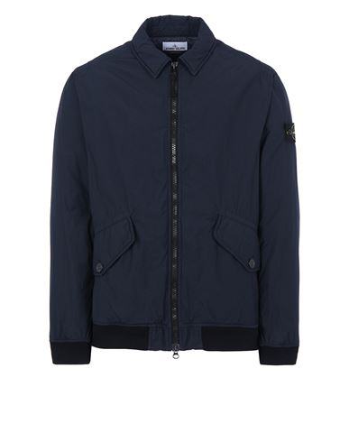 STONE ISLAND 42832 NASLAN LIGHT WATRO WITH PRIMALOFT®-TC Jacket Man Blue EUR 468
