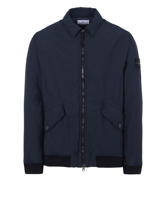 Jacket Man 42832 NASLAN LIGHT WATRO WITH PRIMALOFT®-TC Front STONE ISLAND