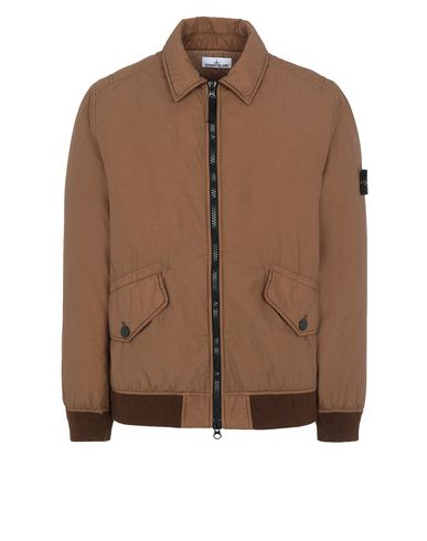 STONE ISLAND 42832 NASLAN LIGHT WATRO WITH PRIMALOFT®-TC Jacket Man Tobacco USD 808