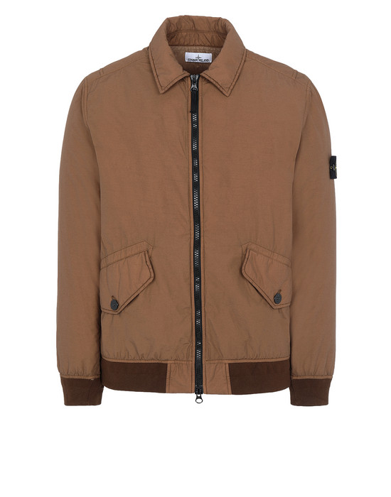 STONE ISLAND 42832 NASLAN LIGHT WATRO WITH PRIMALOFT®-TC Jacket Man Tobacco