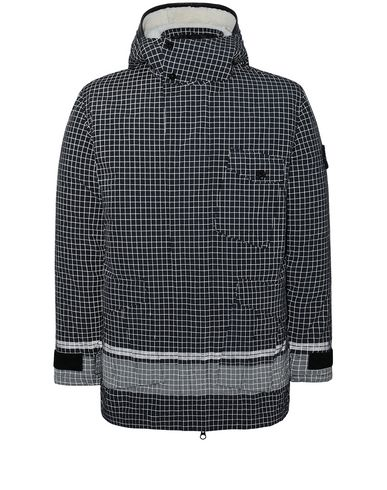 STONE ISLAND 43499 REFLECTIVE RIPSTOP CHINÉ_DETACHABLE LINING Jacket Man Black EUR 2089