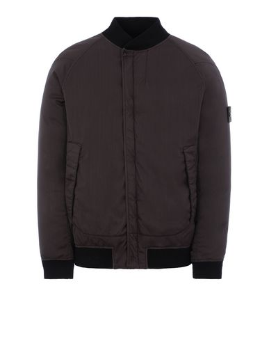 STONE ISLAND 439F2 STRETCH WOOL NYLON-TC DOWN_GHOST PIECE Blouson Homme Brun foncé EUR 915
