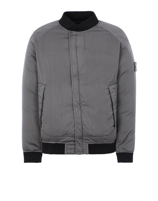 Sold out - STONE ISLAND 439F2 STRETCH WOOL NYLON-TC DOWN_GHOST PIECE Jacket Man Dark Gray