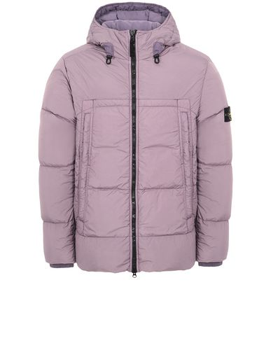 STONE ISLAND 40723 GARMENT DYED CRINKLE REPS NY DOWN Jacket Man Magenta USD 758