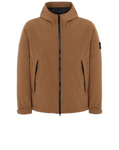 STONE ISLAND 41627 SOFT SHELL-R WITH PRIMALOFT® INSULATION Jacket Man Tobacco EUR 440