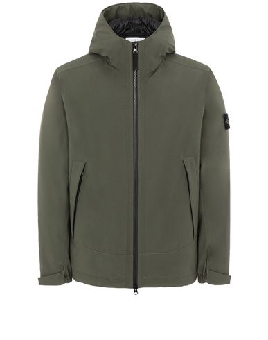 STONE ISLAND 41627 SOFT SHELL-R WITH PRIMALOFT® INSULATION Jacket Man Musk Green EUR 440