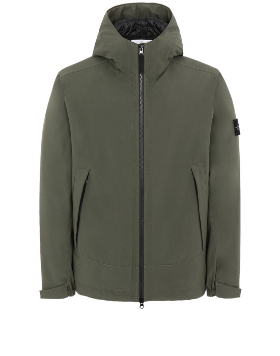 Sold out - STONE ISLAND 41627 SOFT SHELL-R WITH PRIMALOFT® INSULATION Jacket Man Musk Green