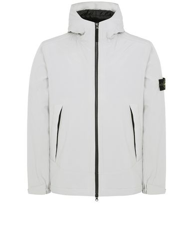STONE ISLAND 41627 SOFT SHELL-R WITH PRIMALOFT® INSULATION Jacket Man Dove Grey EUR 319