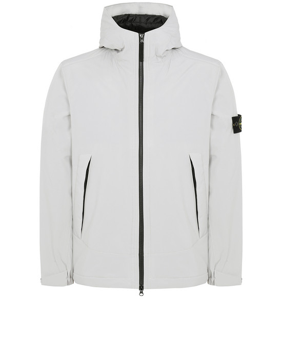 Jacket Man 41627 SOFT SHELL-R WITH PRIMALOFT® INSULATION Front STONE ISLAND