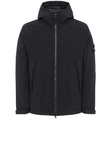 STONE ISLAND 41627 SOFT SHELL-R WITH PRIMALOFT® INSULATION ブルゾン メンズ ブラック JPY 118800