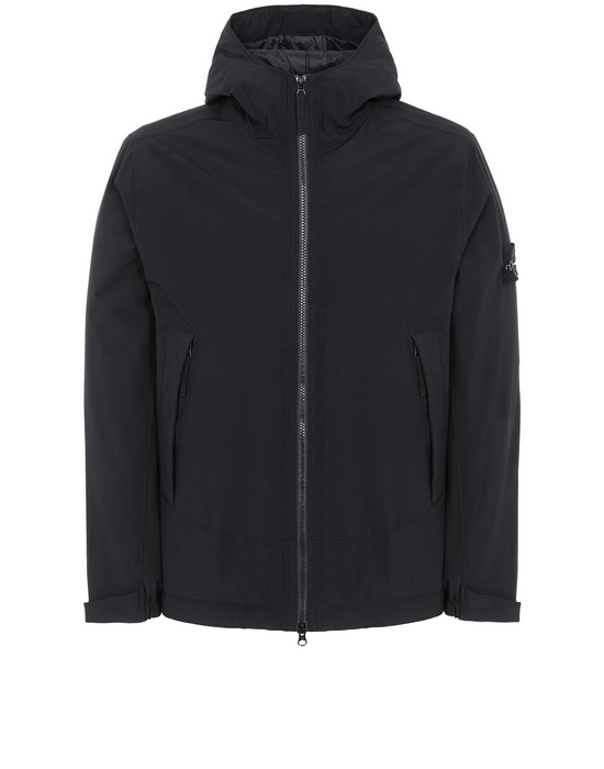 STONE ISLAND 41627 SOFT SHELL-R WITH PRIMALOFT® INSULATION 休闲夹克 男士 黑色