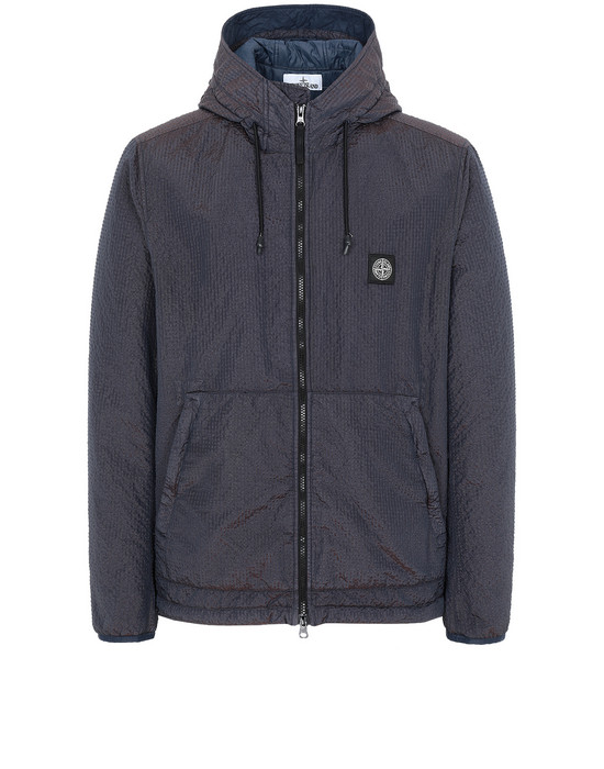 STONE ISLAND 44234 POLY-COLOUR FRAME CON PRIMALOFT®-TC  Jacket Man Marine Blue