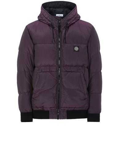 STONE ISLAND 42634 POLY-COLOUR FRAME DOWN-TC ブルゾン メンズ ブラック JPY 138600