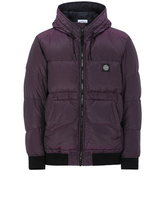 STONE ISLAND 42634 POLY-COLOUR FRAME DOWN-TC 休闲夹克 男士 黑色