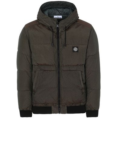 STONE ISLAND 42634 POLY-COLOUR FRAME DOWN-TC Jacket Man Musk Green EUR 417