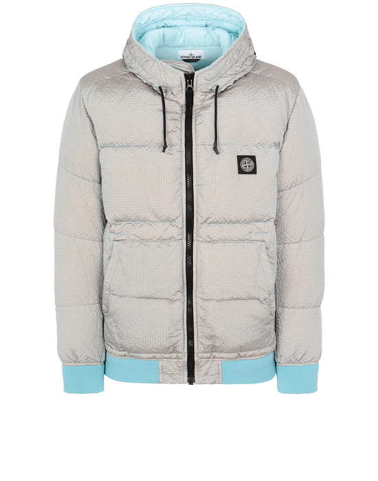 STONE ISLAND 42634 POLY-COLOUR FRAME DOWN-TC Jacket Man Aqua