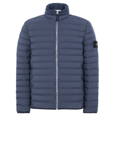 STONE ISLAND 41025 LOOM WOVEN DOWN CHAMBERS STRETCH NYLON-TC Jacket Man Marine Blue USD 643
