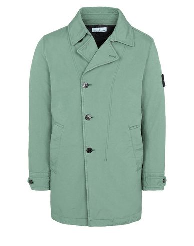 STONE ISLAND 42149 DAVID-TC WITH PRIMALOFT® INSULATION TECHNOLOGY Mid-length jacket Man Sage Green USD 659