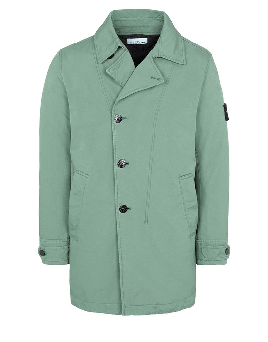 STONE ISLAND 42149 DAVID-TC WITH PRIMALOFT® INSULATION TECHNOLOGY Mid-length jacket Man Sage Green