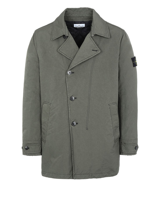 Mid-length jacket Man 42149 DAVID-TC WITH PRIMALOFT® INSULATION TECHNOLOGY Front STONE ISLAND